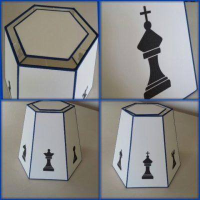 Auch Lampenschirme für Schachspieler fertigen wir gerne in der Lampenschirmwerkstatt Barten.